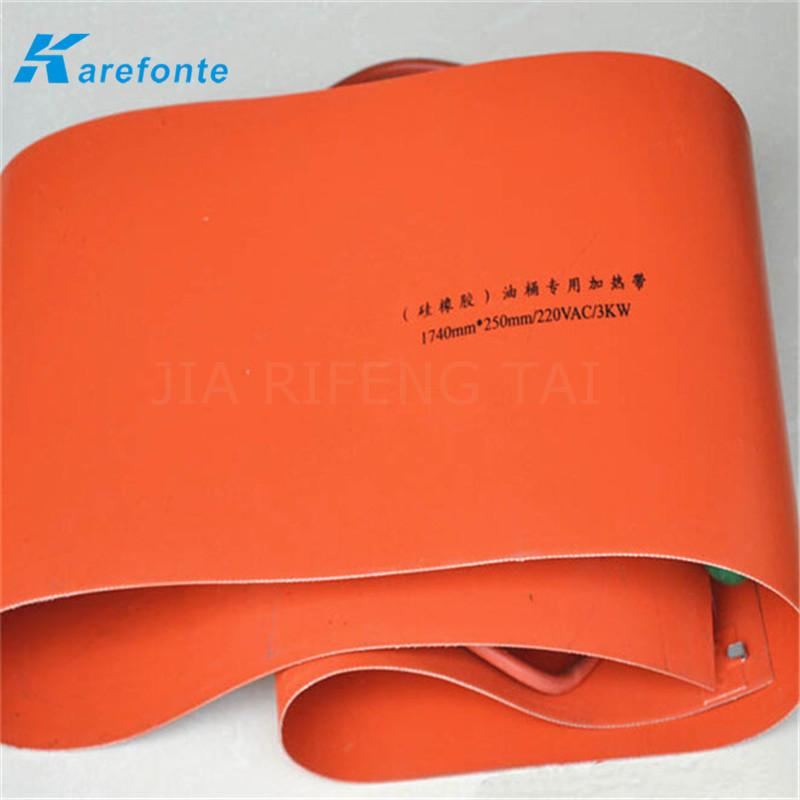 Silicone Rubber Electrical Heating Film / Pad / Sheet  2