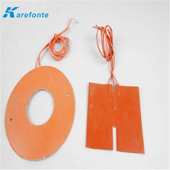 Silicone Rubber Heater Pad  With Temperature Control Silicone heater Film