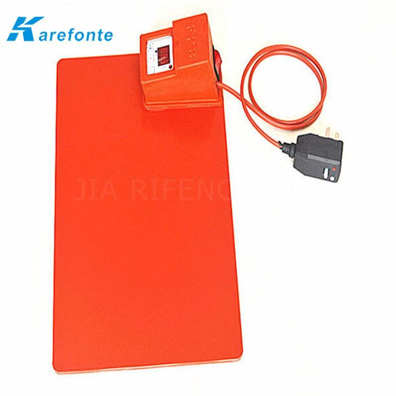 防水電子硅膠加熱膜 硅膠加熱墊 加熱片 1