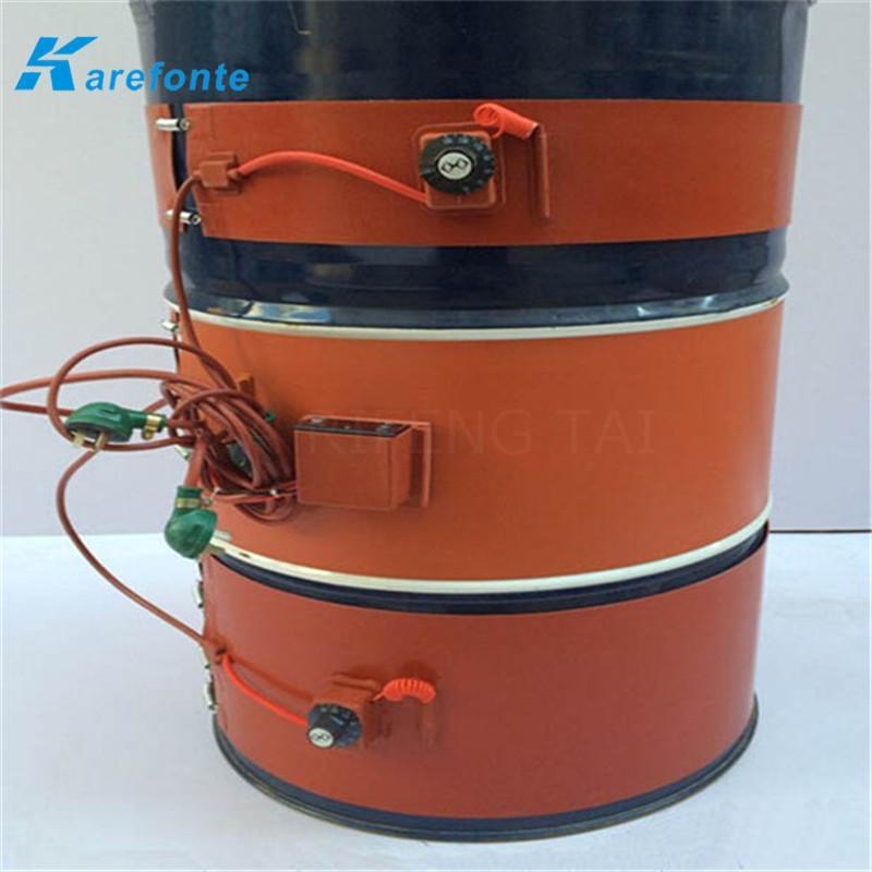 煤氣硅膠加熱膜 油桶硅橡膠加熱墊 硅膠加熱板 1
