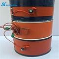 煤气硅胶加热膜 油桶硅橡胶加热