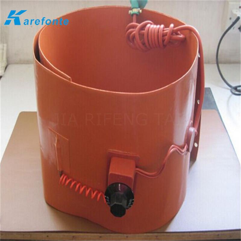 煤气硅胶加热膜 油桶硅橡胶加热垫 硅胶加热板 2