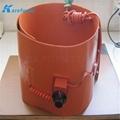 煤氣硅膠加熱膜 油桶硅橡膠加熱墊 硅膠加熱板 2