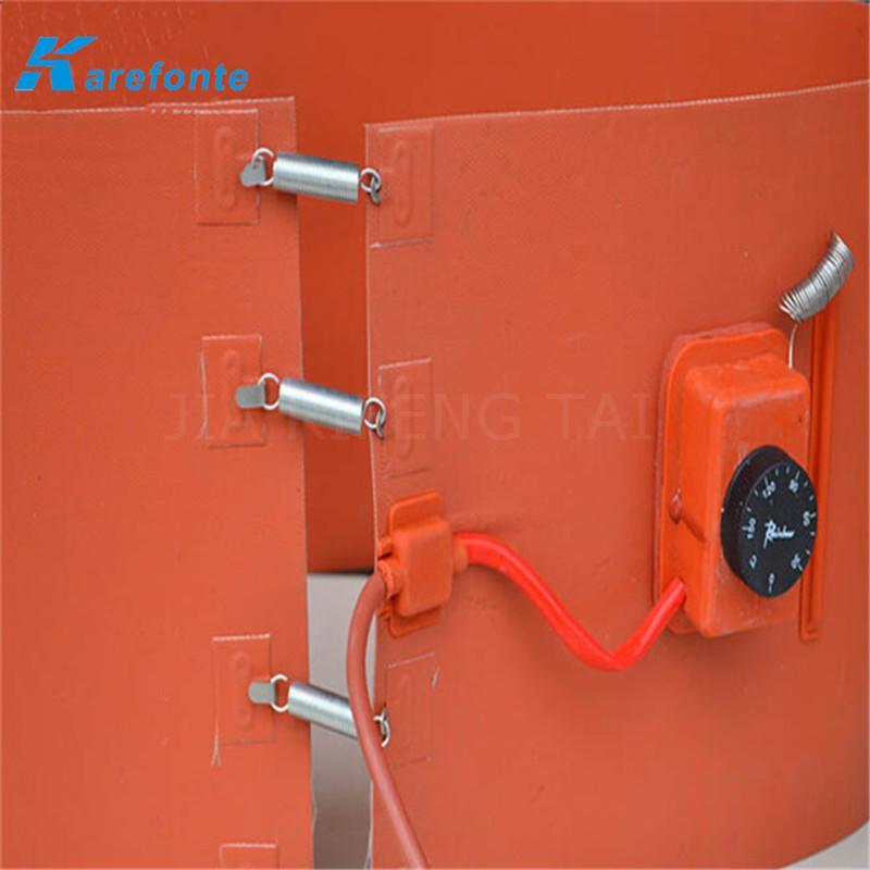 煤气硅胶加热膜 油桶硅橡胶加热垫 硅胶加热板 3