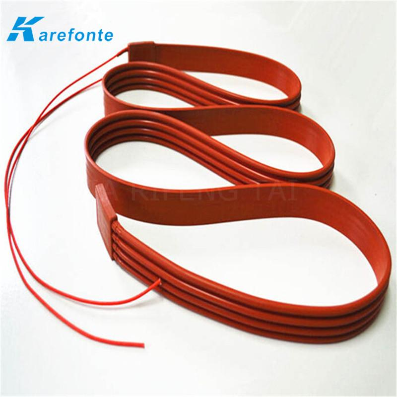 Silicone Rubber Flexible Polymide Film Heater / Silicone Heating Film  3