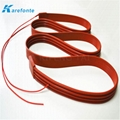 Silicone Rubber Flexible Polymide Film Heater / Silicone Heating Film