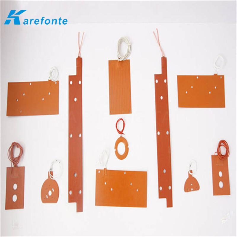 可以定做任何形状硅胶加热垫 硅橡胶加热板 硅胶电热板发热片 电热片 1
