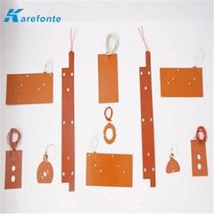 可以定做任何形狀硅膠加熱墊 硅橡膠加熱板 硅膠電熱板發熱片 電熱片