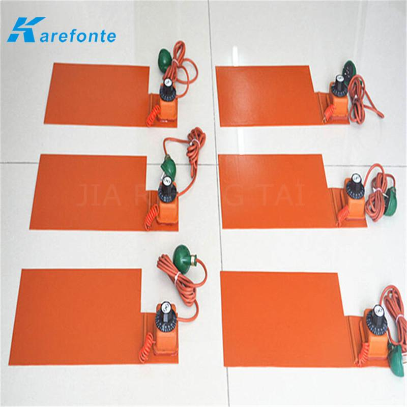 Any Size Voltage Can Be Customized Silicone Rubber Heating Film Heater Sheet  3