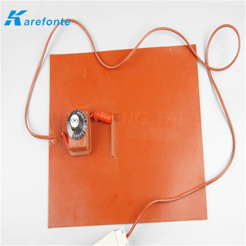 專業生產供應硅橡膠加熱板 柔性硅膠電熱板 發熱板加熱管 3