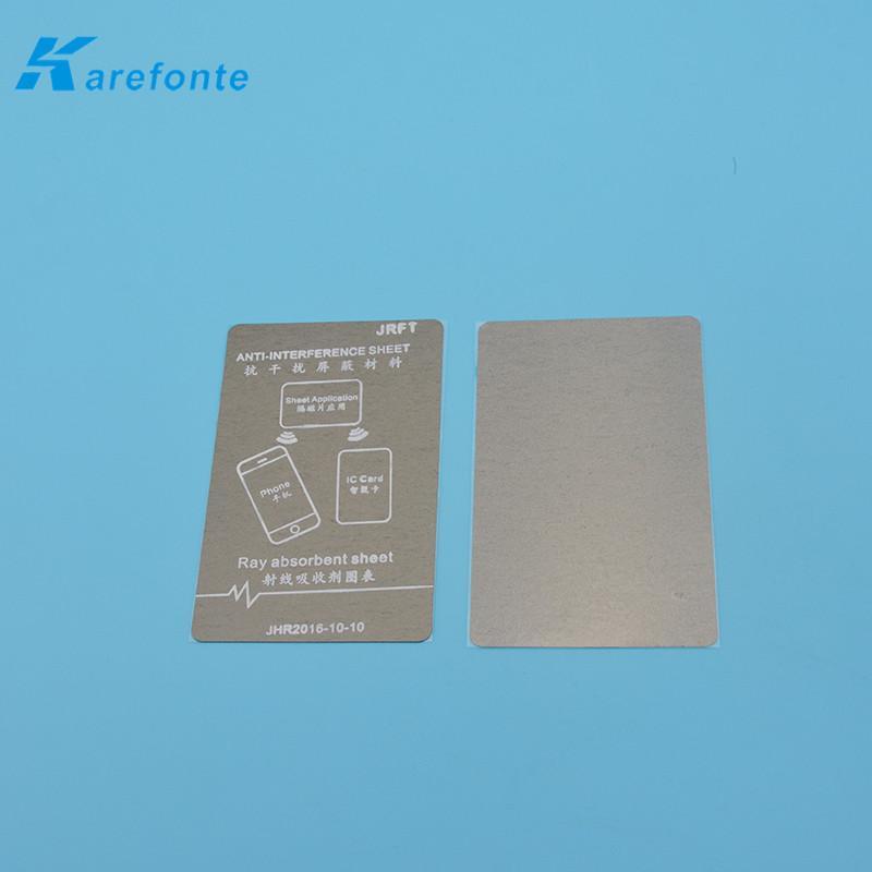 吸波材料防磁貼手機抗干擾防磁貼公交卡改裝抗金屬材料 1