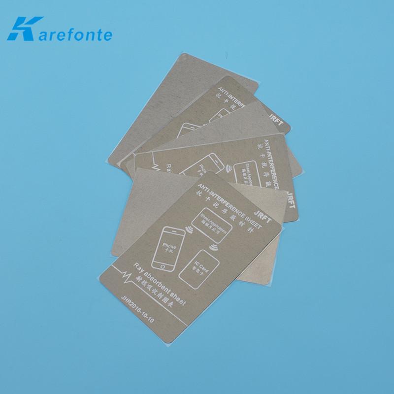 吸波材料防磁貼手機抗干擾防磁貼公交卡改裝抗金屬材料 2