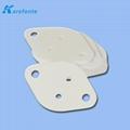 高導熱陶瓷片 氧化鋁陶瓷片 耐高溫氧化鋁陶瓷基片 電子陶瓷 3