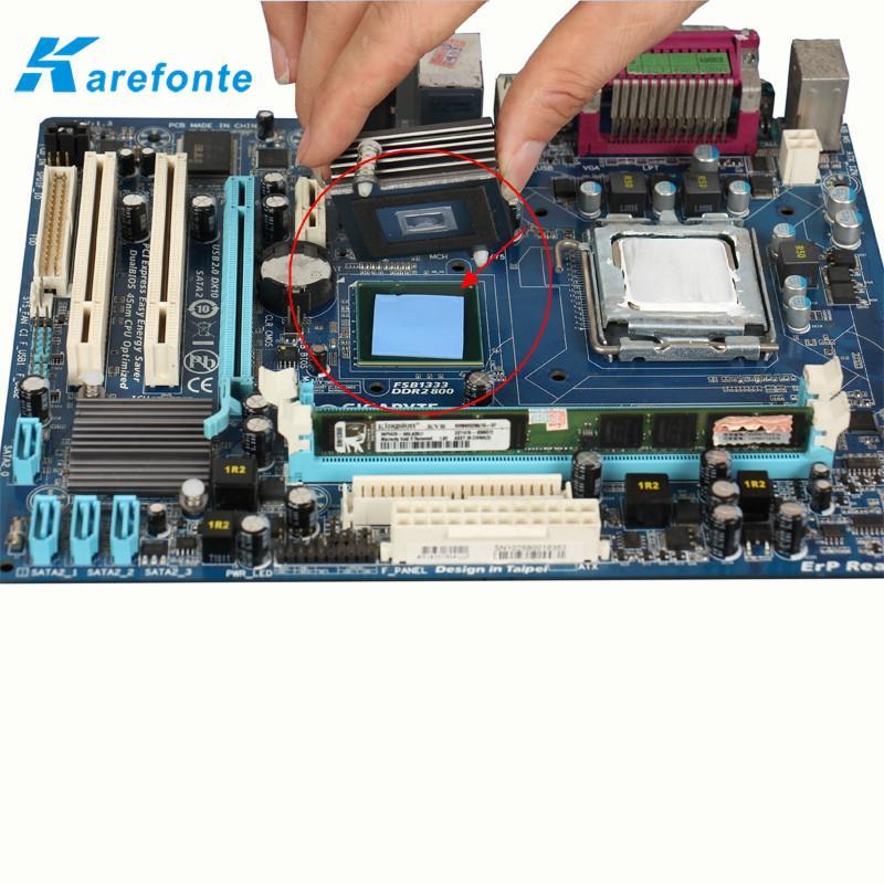 导热硅胶垫片 CPU散热片 绝缘垫片 1