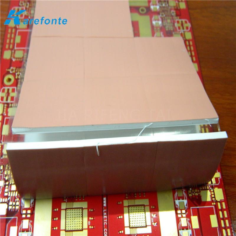 LED、电子元件绝缘软性硅胶垫片 散热硅胶片 导热片 4