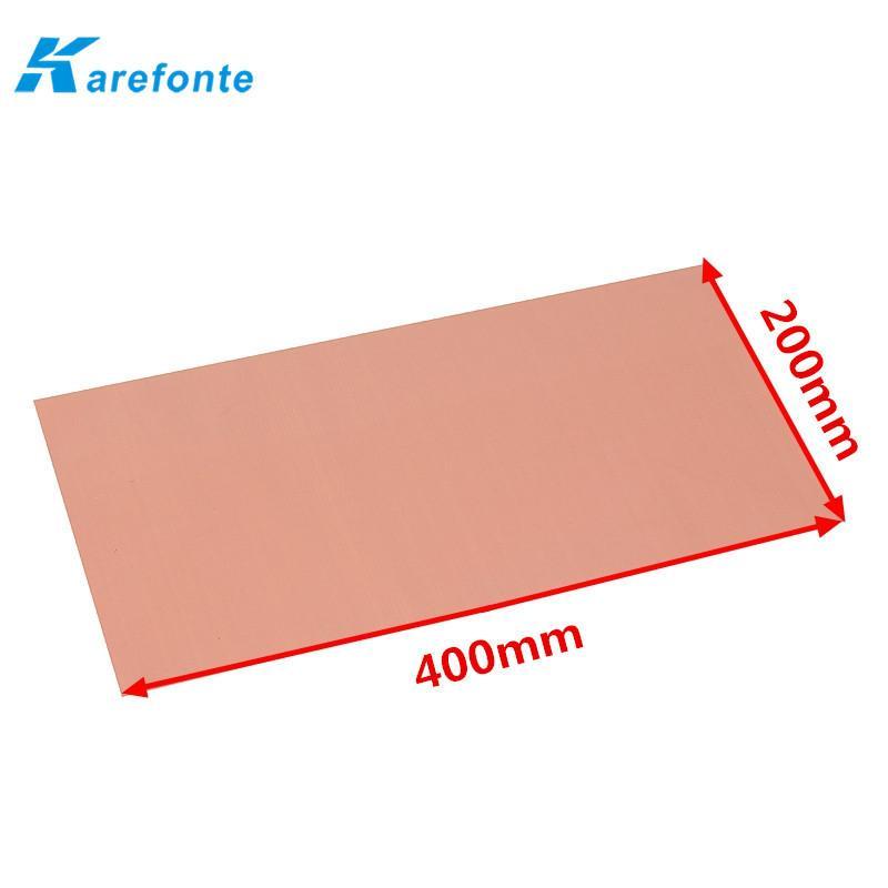 LED、电子元件绝缘软性硅胶垫片 散热硅胶片 导热片 2