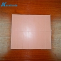 Insulation Silicone Sheet Thermal Silica Gel Pad Coating Filberglass