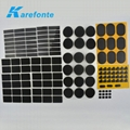 IP65 Waterproof Membrane Black Acoustic Membrane For Smart Phone / Loudspeaker