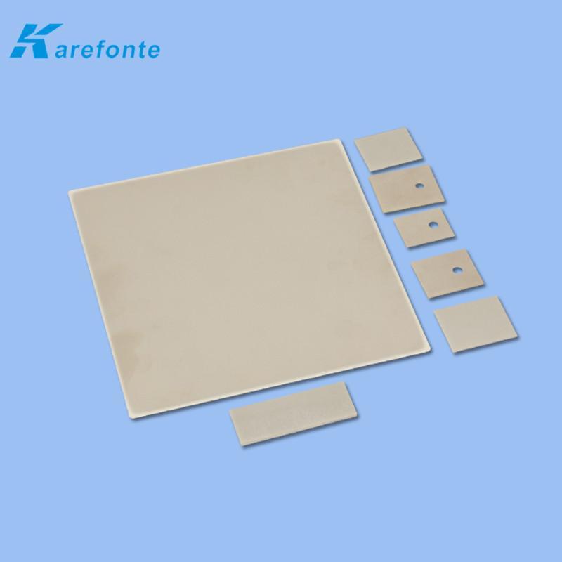 大功率氮化铝陶瓷散热片 陶瓷基板薄片 导热绝缘ALN氮化铝陶瓷片  1