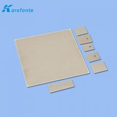 大功率氮化铝陶瓷散热片 陶瓷基板薄片 导热绝缘ALN氮化铝陶瓷片