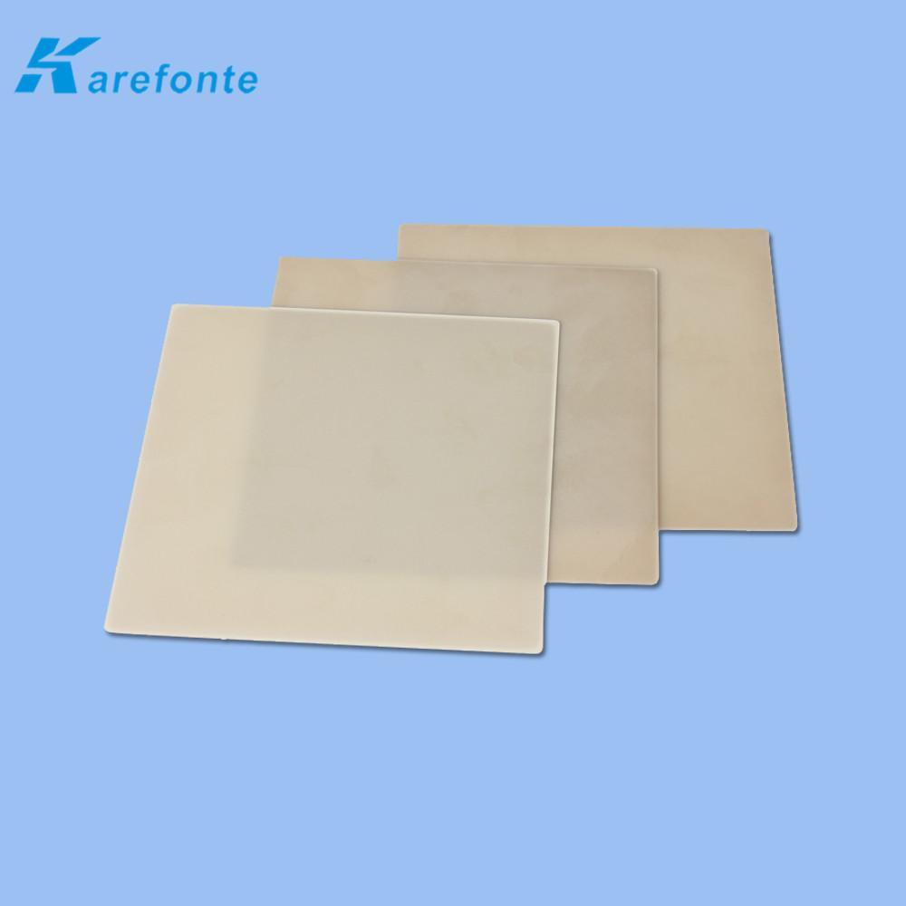 大功率氮化鋁陶瓷散熱片 陶瓷基板薄片 導熱絕緣ALN氮化鋁陶瓷片  3