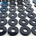 可以定做 黑色密封硅膠墊片防滑墊可拉伸硅膠墊片 2