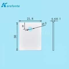 导热陶瓷片0.635x21.8x30mm IGBT 氧化铝散热片