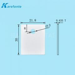 導熱陶瓷片0.635x21.8x30mm IGBT 氧化鋁散熱片