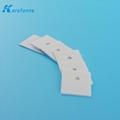 0.635x21.8x30mm Alumina Ceramic IGBT Insulation Al2O3 Ceramic Plate 2