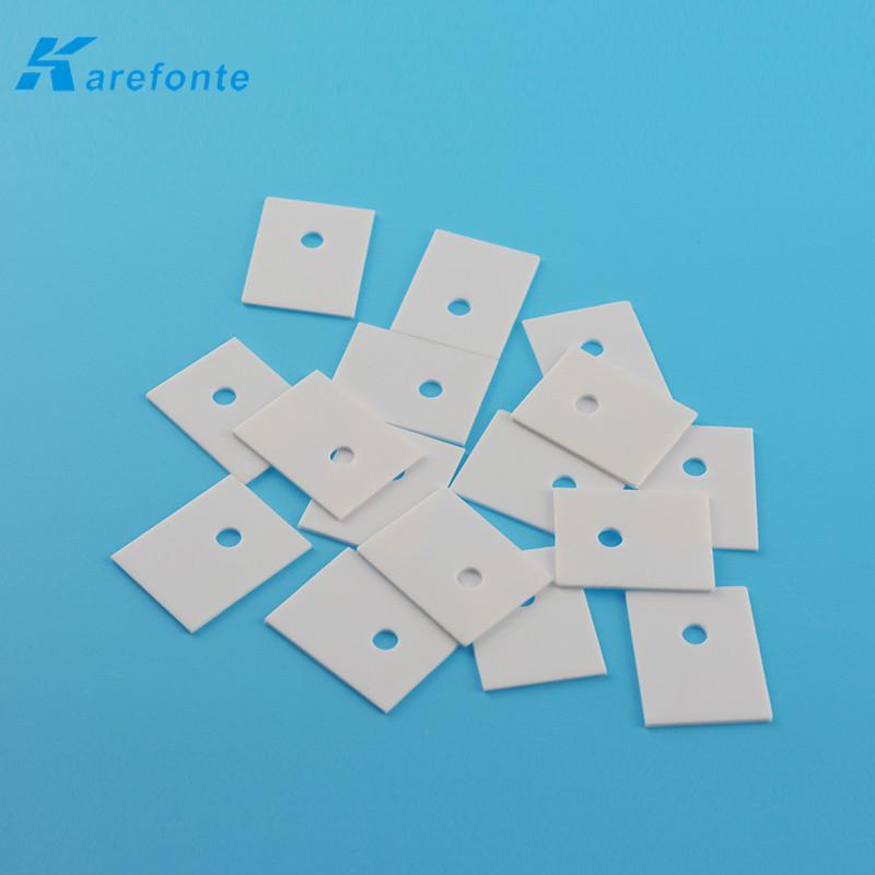 0.635x21.8x30mm Alumina Ceramic IGBT Insulation Al2O3 Ceramic Plate 4