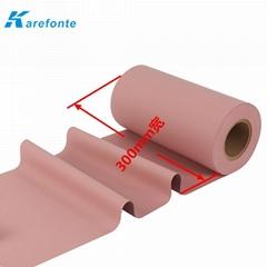 BM900S 耐高溫導熱矽膠布訂製0.23mm厚絕緣導熱布電子部件絕緣片