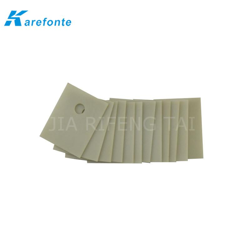 TO-220 14x20mm (1mm/0.635mm) 厚 高导热氮化铝陶瓷片 AIN陶瓷垫片 3