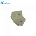 TO-3P  Aln Ceramic Pad 20x25mm High Thermal Conductivity IGBT Cooling Pads