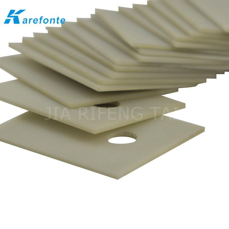 高导热绝缘陶瓷片 TO-3P 20x25mm  氮化铝陶瓷散热片 IGBT 模组陶瓷绝缘片 4