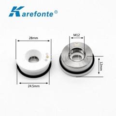 直徑28mm光纖激光切割機陶瓷體陶瓷環絕緣陶瓷切割頭