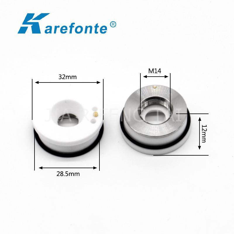 光纖激光機陶瓷環直徑28 32mm切割機陶瓷體 陶瓷切割頭 3
