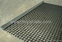 Raw coal screen