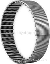 Wedge wire welded stainless steel screen tube