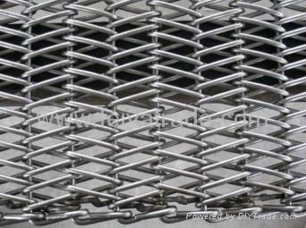 High temperature metal mesh belt  4