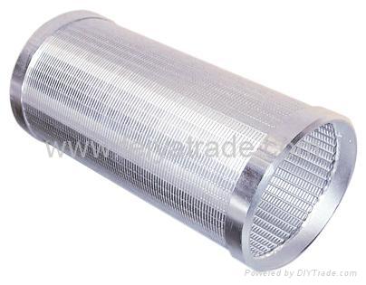 楔形絲濾水管 1