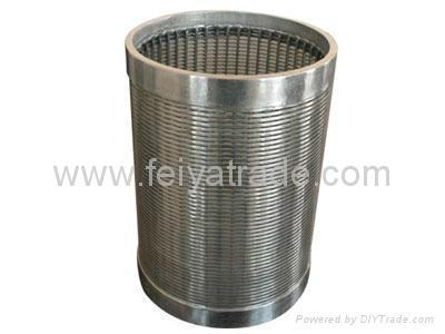 楔形絲濾水管 3