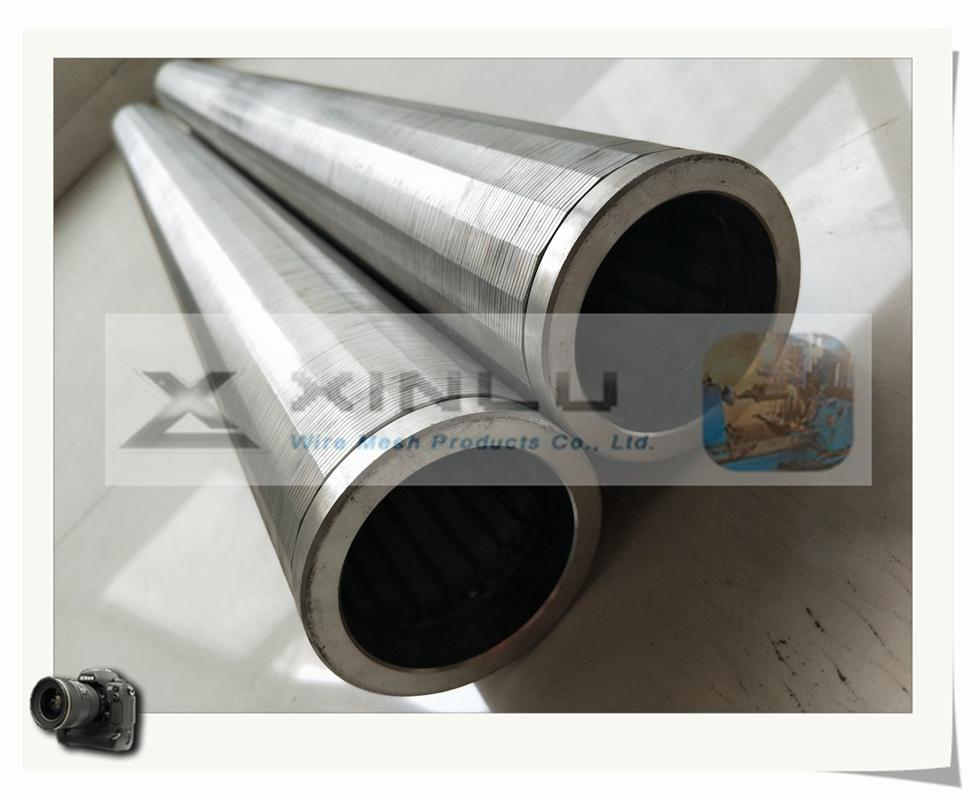 Wedge wire welded stainless steel screen tube 1