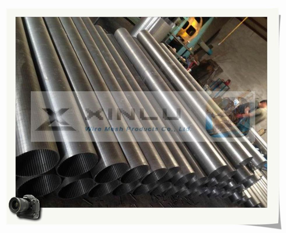 Wedge wire welded stainless steel screen tube 2
