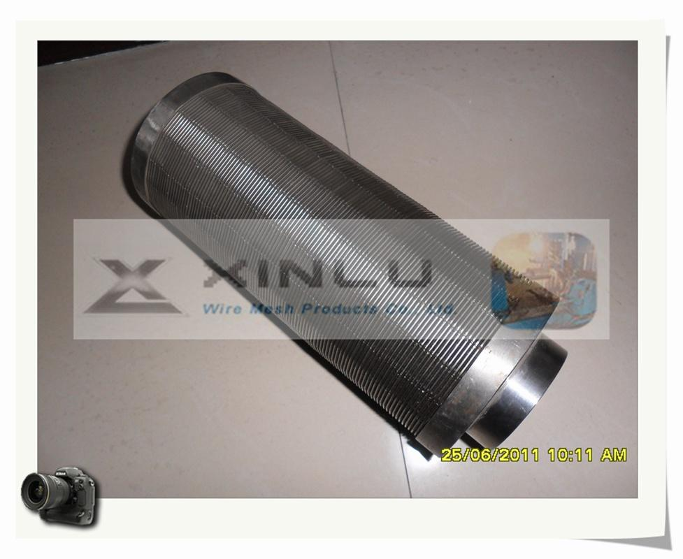 Wedge wire welded stainless steel screen tube 4