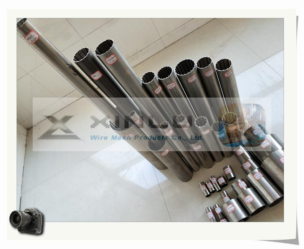 Wedge wire welded stainless steel screen tube 5