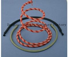 3inchbraided rope gooseneck hoseflexiblemetalhoses