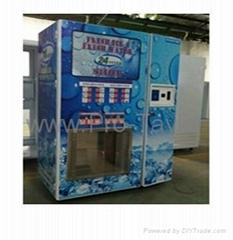 Ice & Water Vending Machine