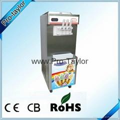 2+1 mixed ce Approved soft ice cream maker yogurt making machine