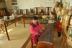 The Lingshou Hengding source wooden handicrafts processing