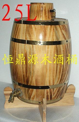 Decorative wooden barrelscan be customized 1